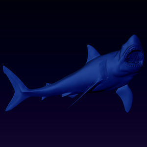 great white shark bas 3ds