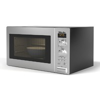 miele freestanding microwave 3d max