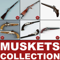 Old Muskets Collection V5