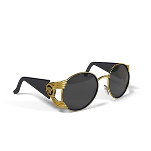 3ds max versace sunglasses