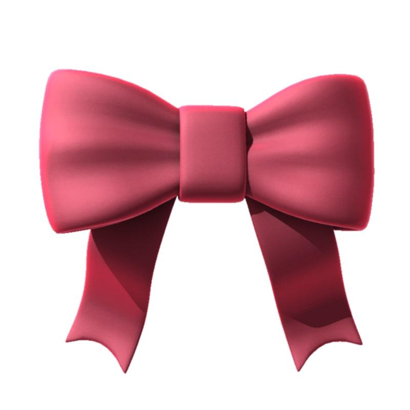 max bow ribbon tie