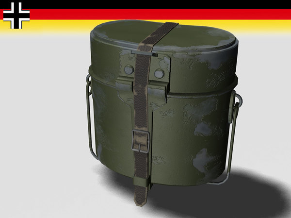 lightwave mess kit german wwii