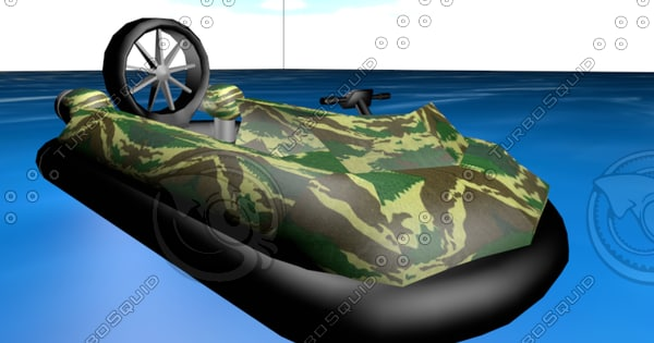 3ds max hovercraft military