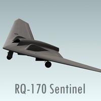 rq-170 sentinel 3d 3ds