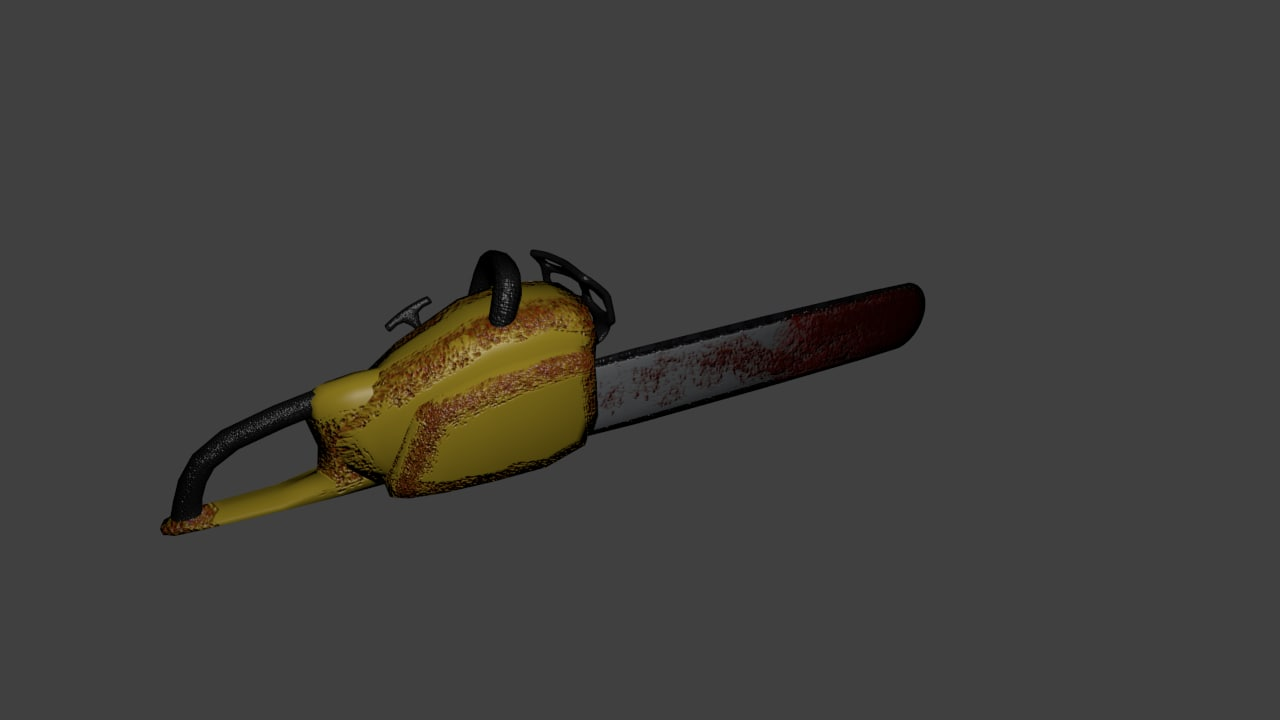 chainsaw 3d 3ds