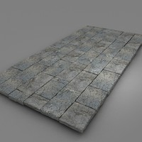 Big blocks stone pavement