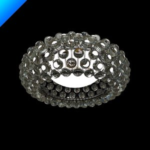 caboche ceiling lamp 3d model