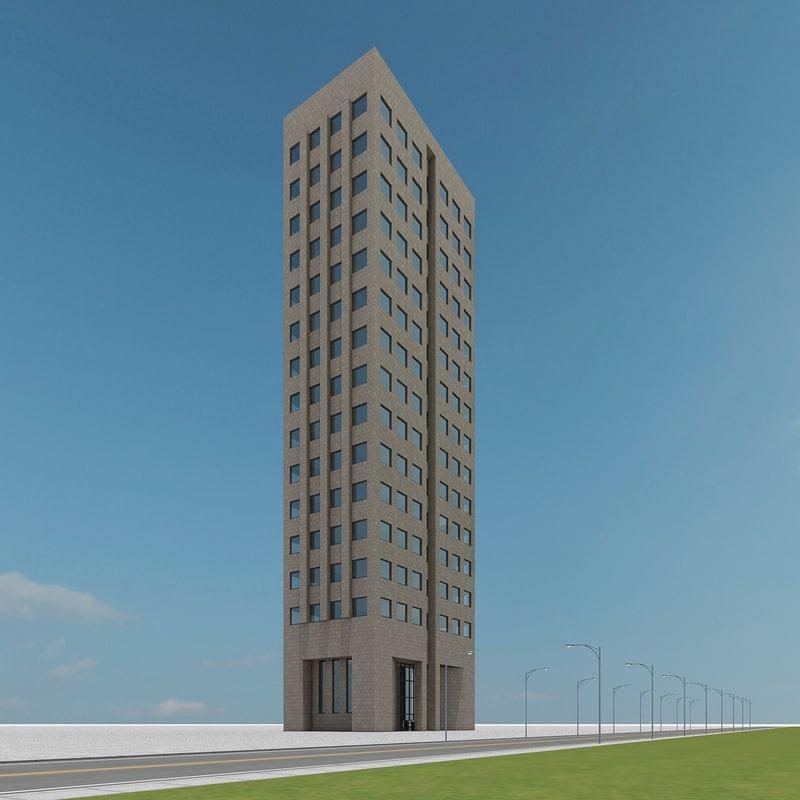 3d new skyscraper 29
