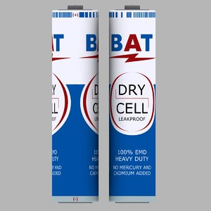 3d dry cell battery