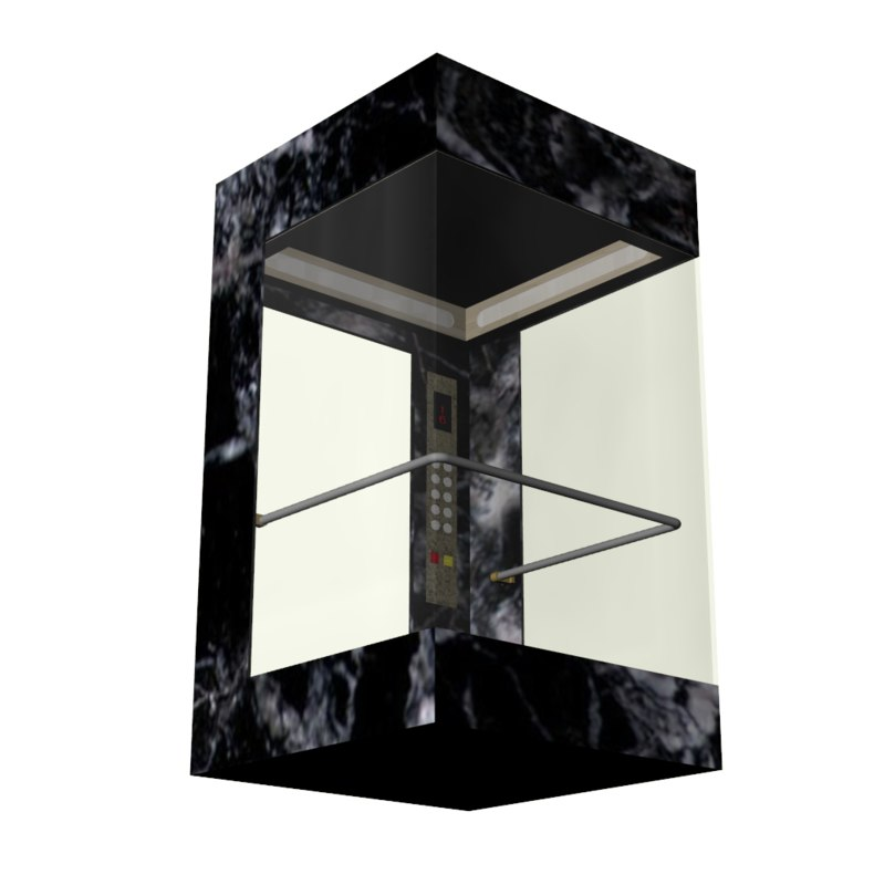 3d elevator model