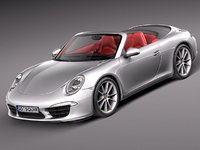 Porsche 911 Carrera Cabriolet 2013