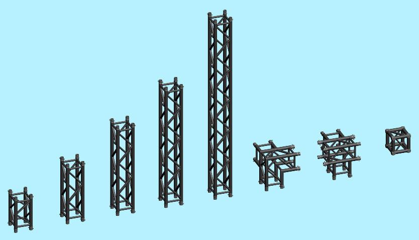 3dsmax truss systems
