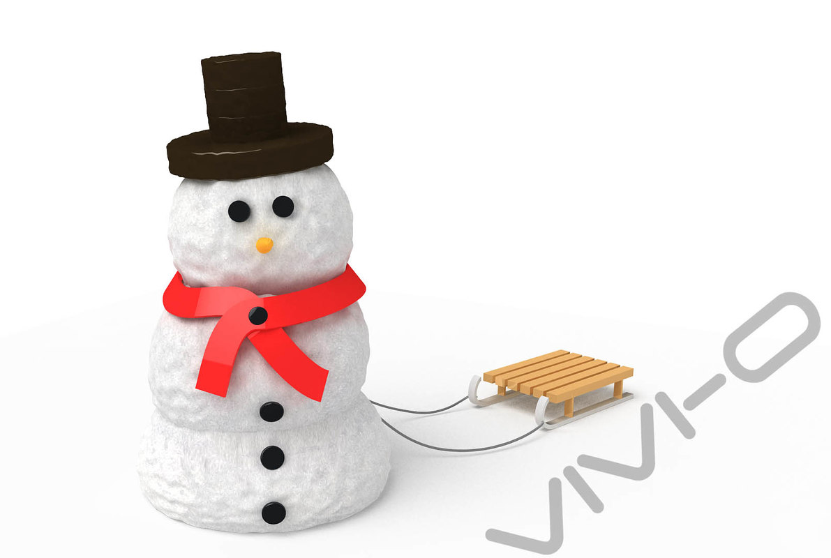 max snow snowman