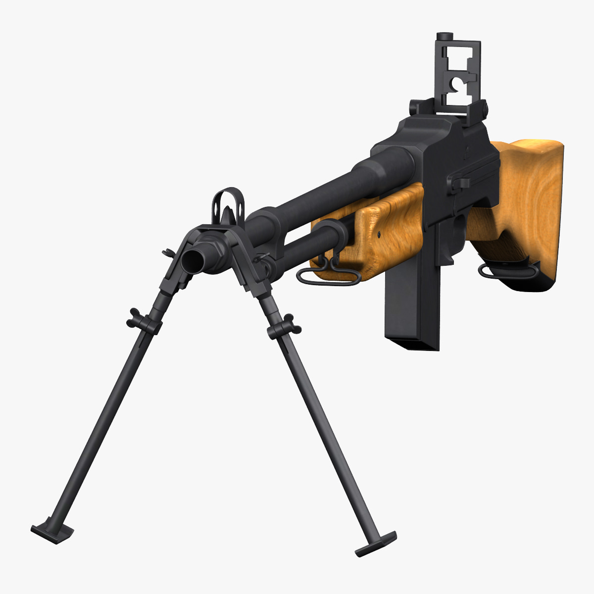 3d browning automatic rifle bar