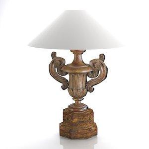 casa d arte table lamp 3d 3ds