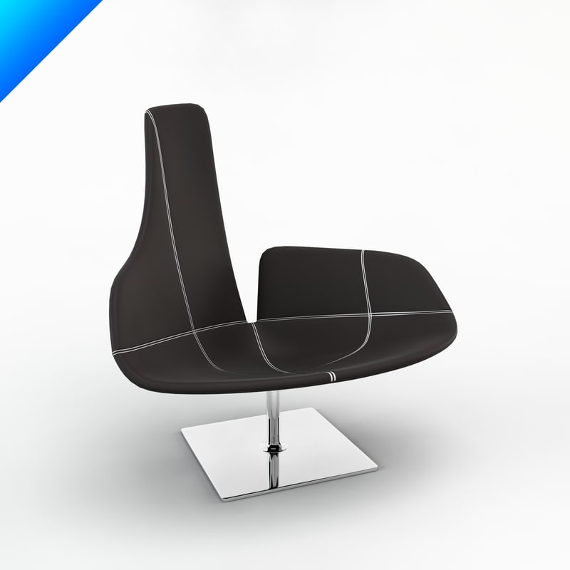 relax chair patricia 3d max