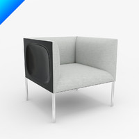 obj hollow armchair 71 patricia