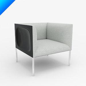 obj hollow armchair 71 patricia