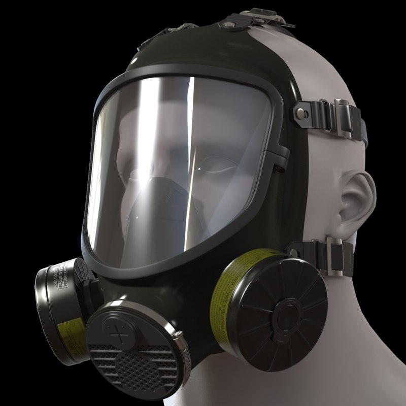 obj gas mask