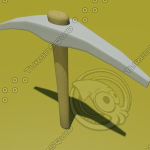 free obj mode pick axe