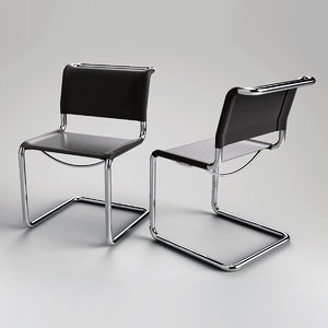 marcel breuer chair 3d 3dm