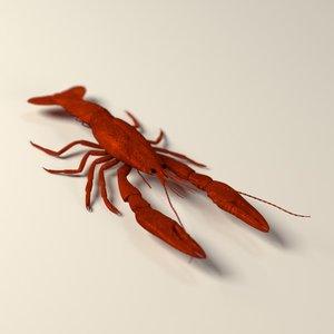 3ds max dead crayfish