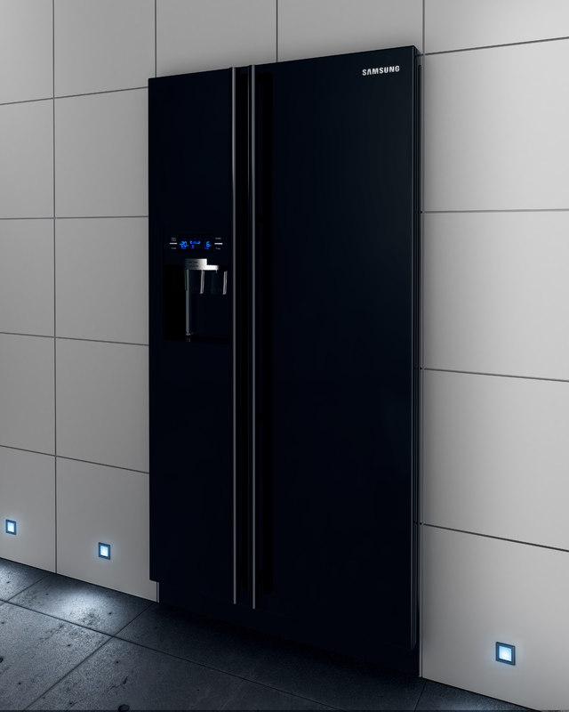 3dsmax samsung refrigerator