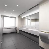 3D Rest room
