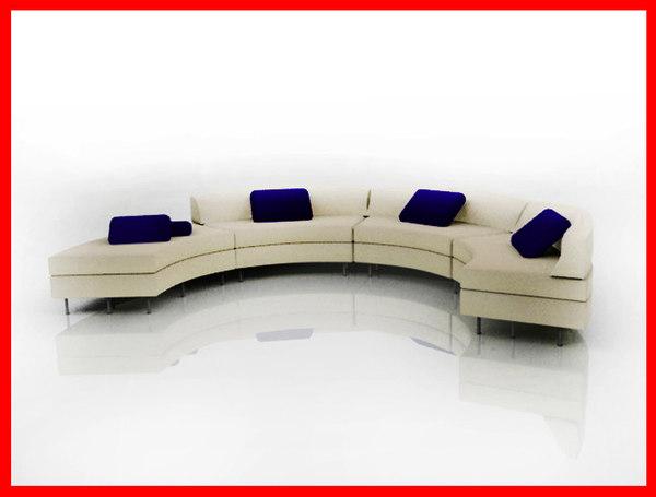 3d model sofa interior