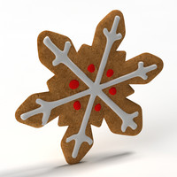 gingerbread ginger bread 3d 3ds