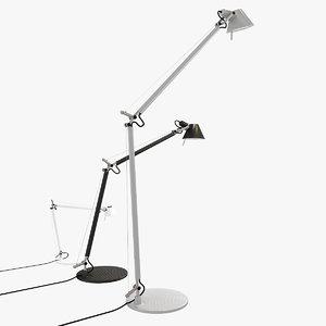 tolomeo artemide lamp obj
