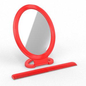 3d comb mirror