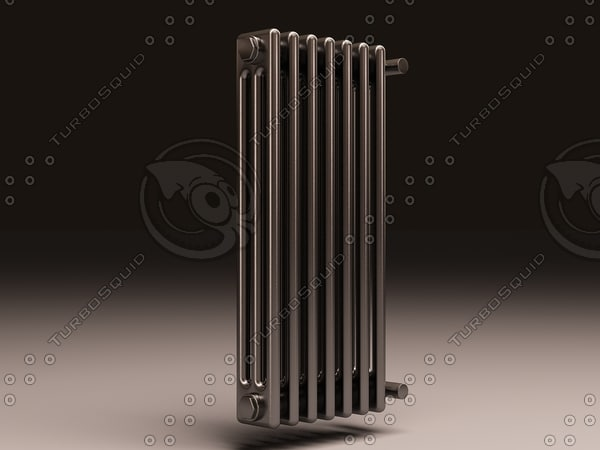 arbonia bank radiator 3 3d max