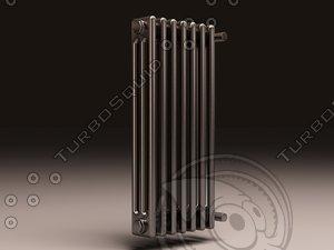 arbonia bank radiator 3 3d max