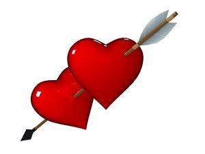 3d s heart
