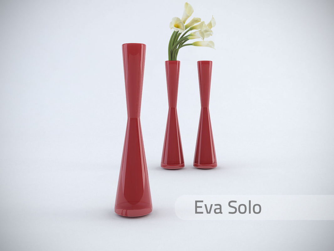 3ds max menu ball vase eva