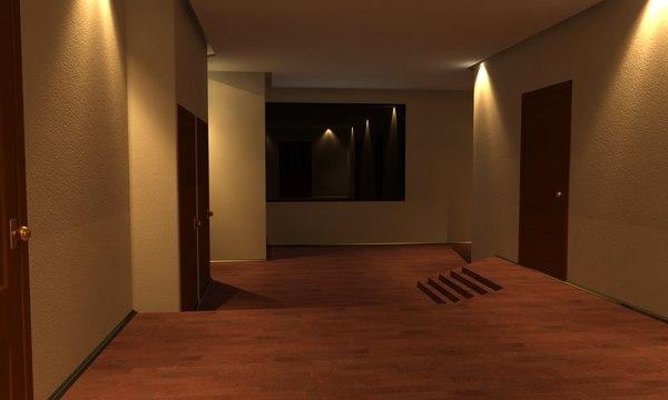 3d model house living