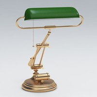 3d model of desk lamp