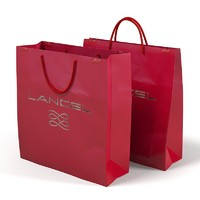 Lancel Paper Carry Retail Gift Bags