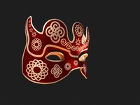 Venetian Carnival Mask 12