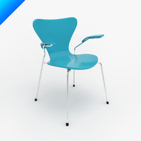 Arne Jacobsen  Series 7 Side Arm Chair