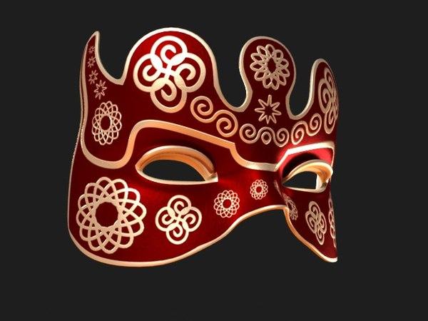 3d max venetian mask