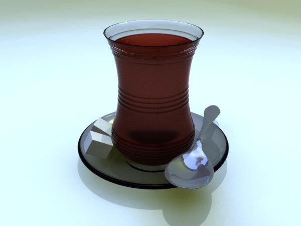 3ds max turkish tea