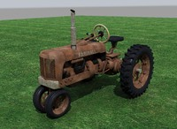 farm tractor 3d x