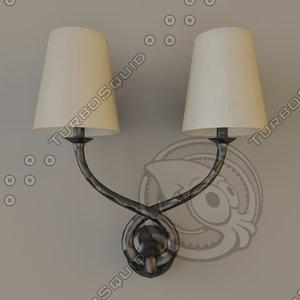 objet insolite aladdin lamp 3d model