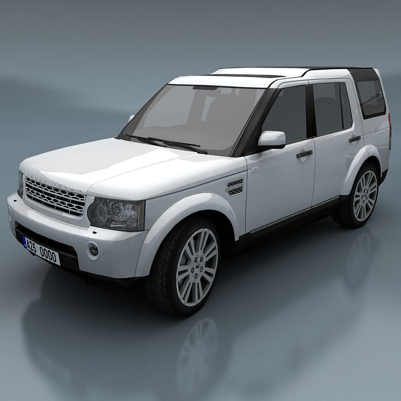 land rover discovery 3d max
