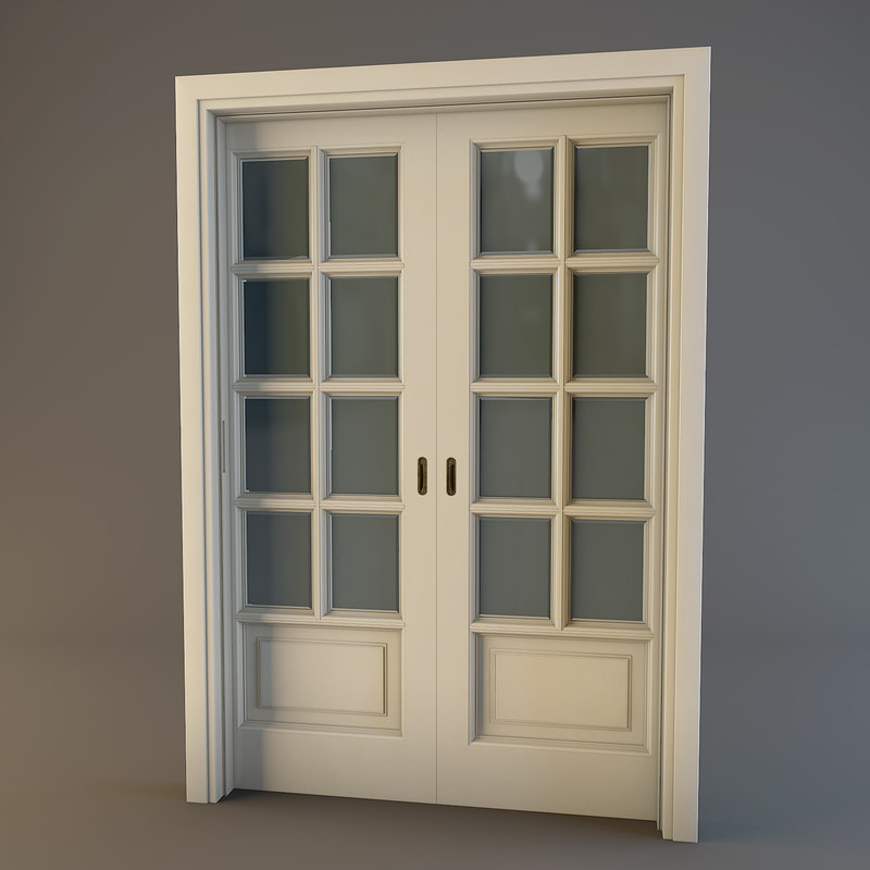 Miraculous Wooden Door 3D Models And Textures Turbosquid Com Largest Home Design Picture Inspirations Pitcheantrous