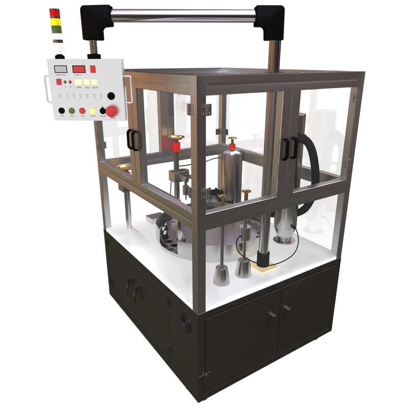 factory automatic packaging machine 3d model