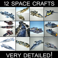 3d model space 1 ships