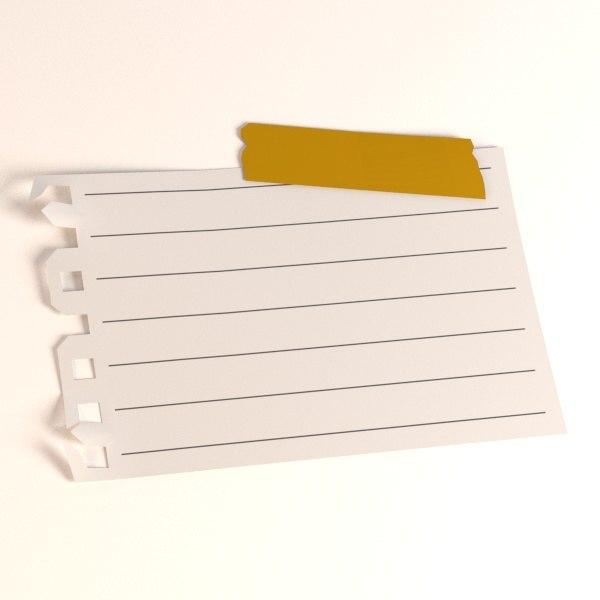 paper 3d 3ds